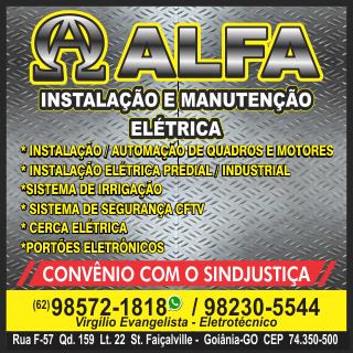 Alfa Instalação e Manutenção Elétrica