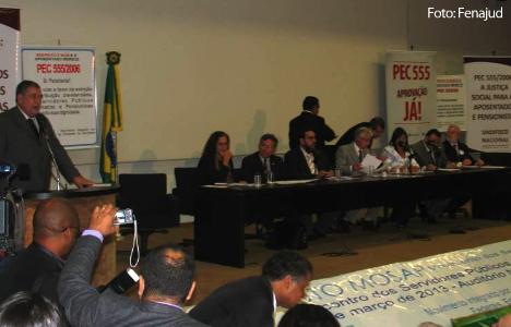 Audiência pública realizada em Brasília (DF)