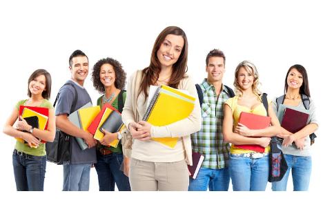 estudantes bolsa de estudo