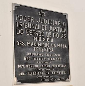 placa inauguracao forum cidade de goias
