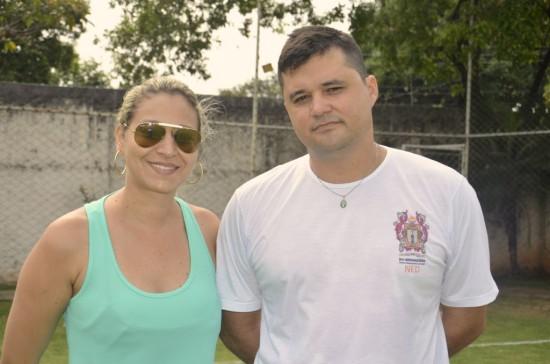 Mara Cristina e Denis Monteiro