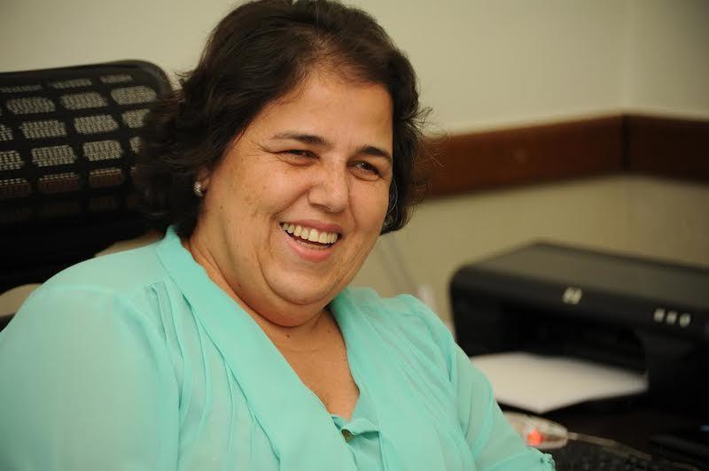 Vice-presidente para Assuntos Administrativos, Rosângela Ramos de Alencar
