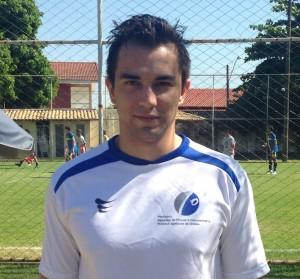 Diogo Damião, um dos destaques dos jogos