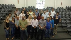 Servidores da comarca de Catalão junto aos dirigentes do SINDJUSTIÇA