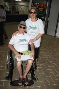 Marlen Antônio e esposa participam do Encontro da Melhor Idade pela terceira vez