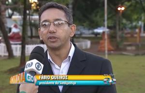 Fábio Queiroz, presidente do SINDJUSTIÇA, fala ao vivo no Bom Dia Goiás