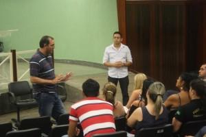 Diretores do SINDJUSTIÇA, Fábio Queiroz e Fabrício Duarte prestam assistência a servidores de Rio Verde
