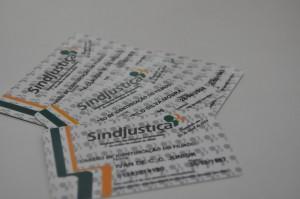 Cartões de identificação entregues aos delegados sindicais