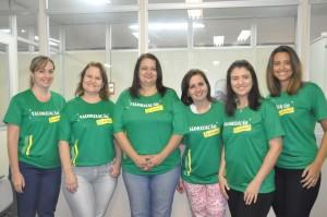 Servidoras do gabinete do desembargador Alan Sebastião reforçam plano de ação do SINDJUSTIÇA