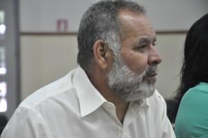 Delegado sindical Aleomar Dias