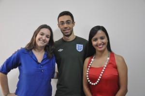 Hallana de Moraes, Christie Cordeiro e Laura Ferreira convidam colegas aprovados no TJGO para reunião no dia 21 de março