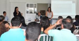Reunião de aprovados no concurso do TJGO reuniu cerca de 120 pessoas