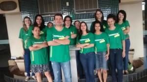 Unidos, servidores de Aparecida de Goiânia trabalham com a camiseta da valorização