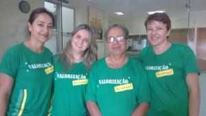 Quarta-feira foi de mobilização por valorização entre os servidores Cachoeira Alta