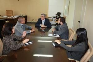 Representantes do SINDJUSTIÇA discutem com o corregedor-geral da Justiça soluções para reemissão de mandados já executados