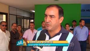 Fabrício Duarte fala à TV Anhanguera