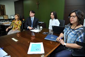 Reunião para apresentação do Plano de Capacitação ocorreu nesta terça, na sede do TJGO