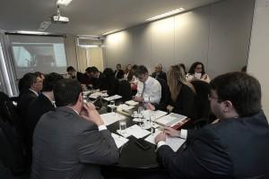 Reunião do Comitê Gestor da Política de Priorização. Foto: Luiz Silveira/Agência CNJ