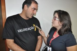 Fabrício Duarte em entrevista ao portal de notícias G1