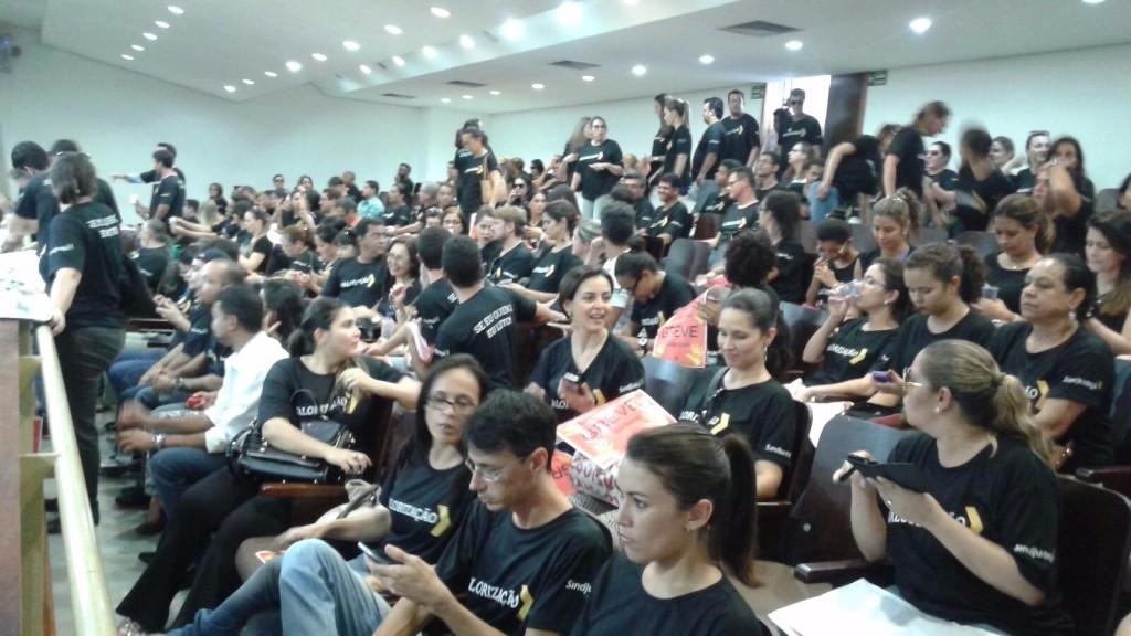 greve assembleia