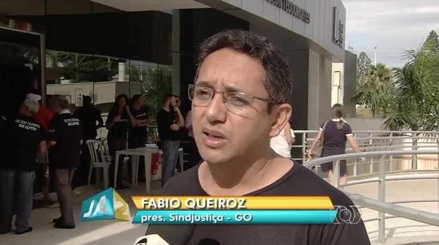 Presidente Fábio Queiroz fala à TV Anhanguera sobre as perspectivas dos servidores quanto ao pagamento da data-base