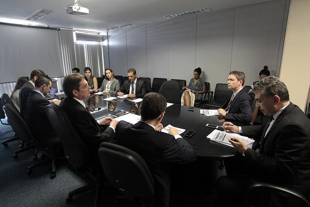 Reunião da Comissão de Eficiência Operacional e Gestão de Pessoas. Foto: Luiz Silveira/Agência CNJ