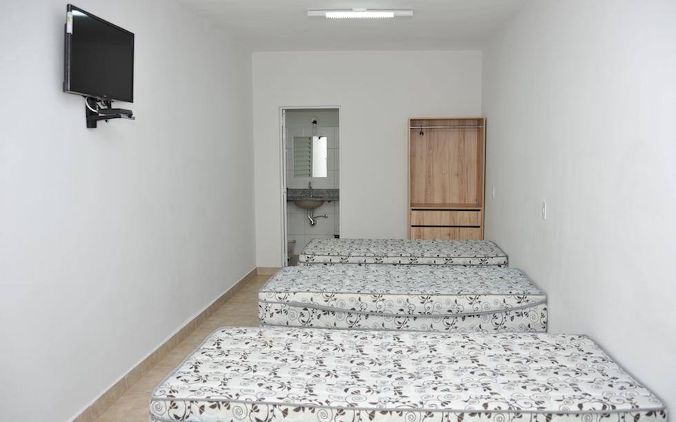 Pousada em Goiânia tem 15 apartamentos à disposição dos filiados