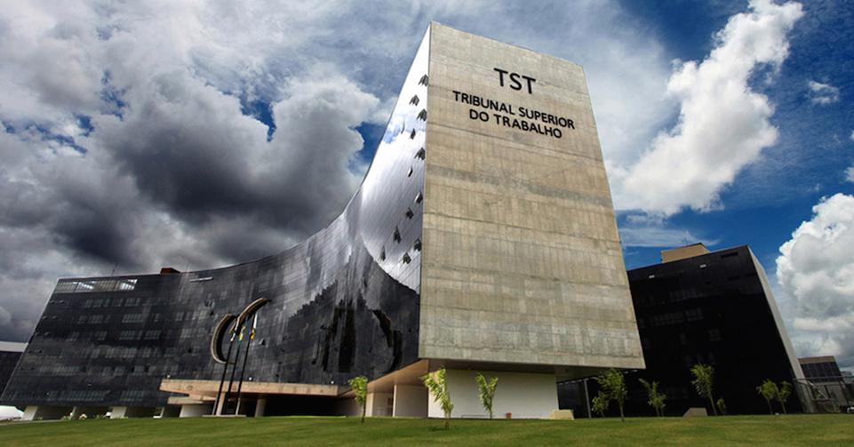 Prédio-sede do TST, em Brasília
