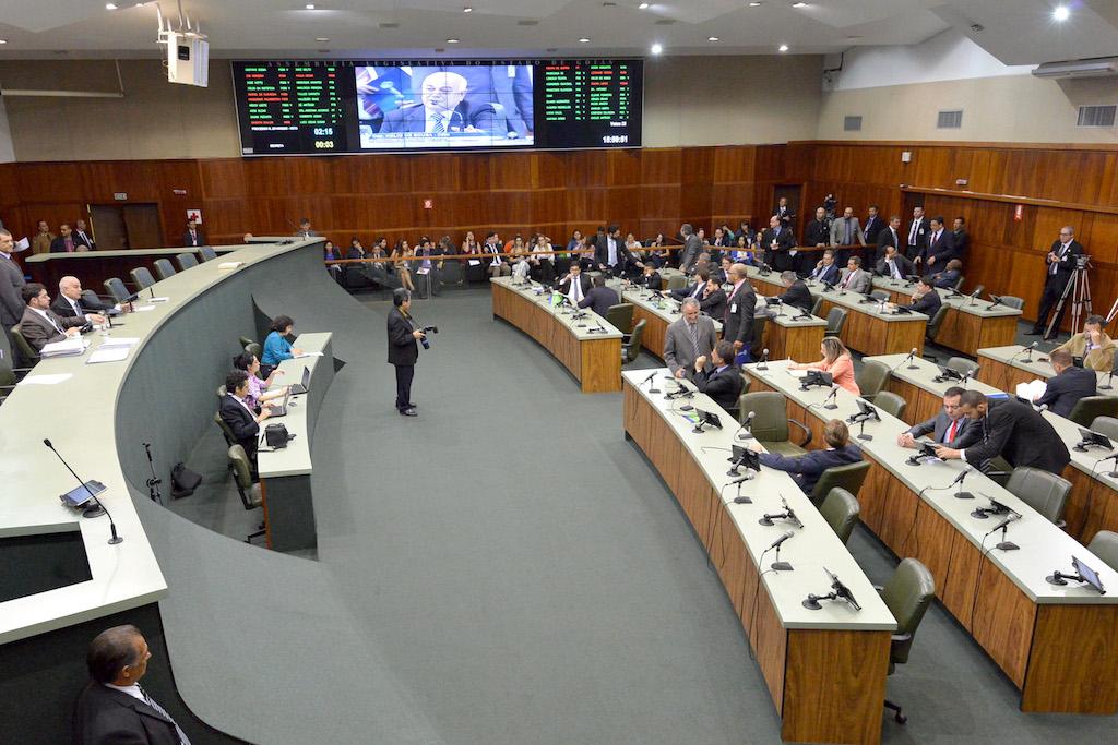 Plenário da Assembleia Legislativa do Estado de Goiás. Foto: Marcos Kennedy