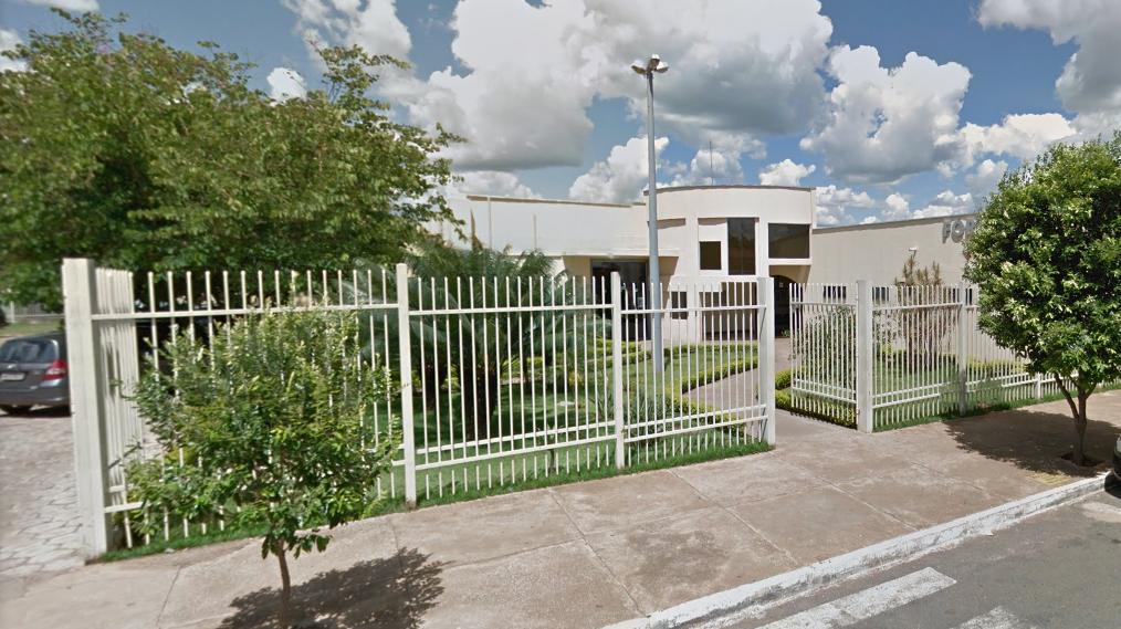 Fachada do fórum de Senador Canedo. Foto: Google Street View