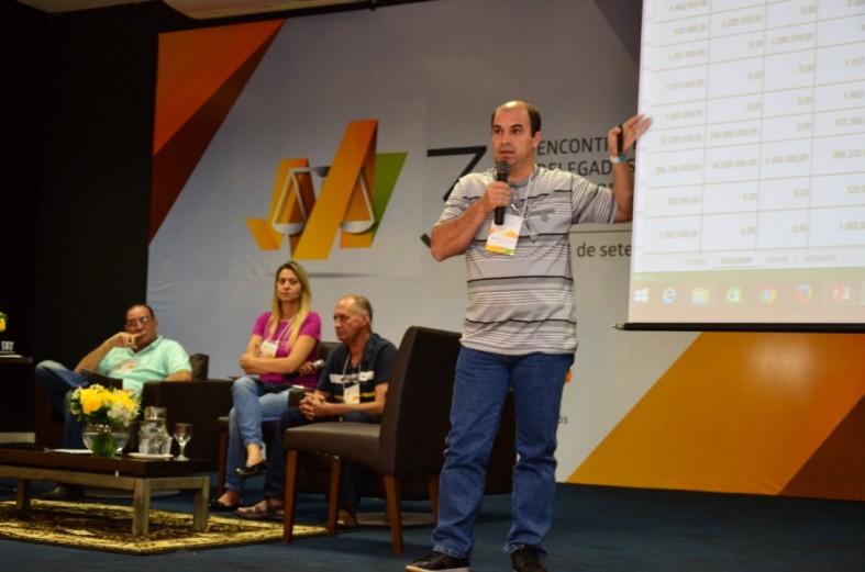 sindjustica encontro delegados palestra irismar - 7