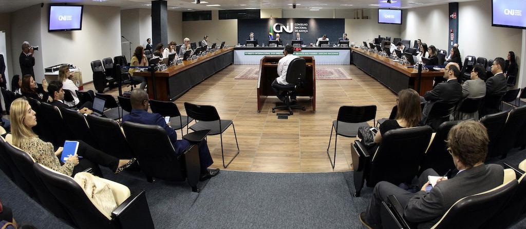 Plenário do Conselho Nacional de Justiça. Foto: Agência CNJ