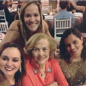 Na família Vasconcelos, a mãe, Wilma, inspirou as filhas Vanessa, Valéria e Claudia a escolherem a carreira no Judiciário goiano