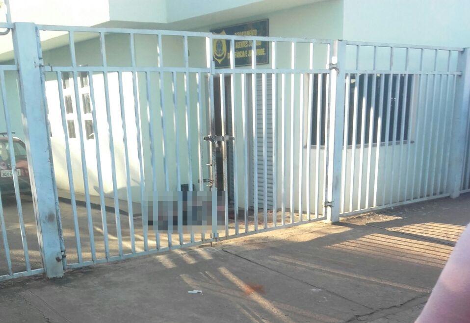Dois vigilantes foram assassinados no Juizado da Infância e Juventude de Anápolis. Foto: Mais Goiás.
