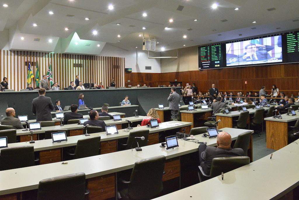 Plenário da Assembleia Legislativa de Goiás. Foto: Marcos Kennedy