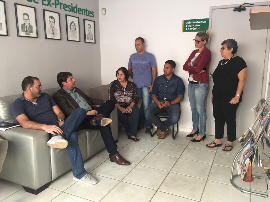 Visita dep Karlos Cabral
