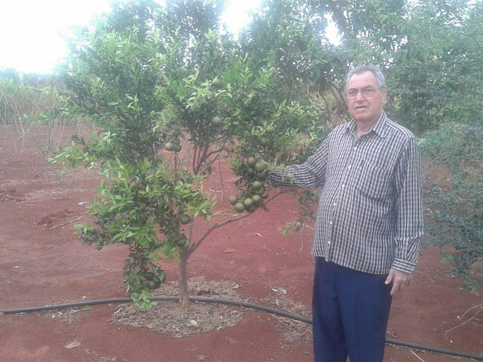 Hamilton Ferreira, pai da 1ª vice-presidente Mara Cristina