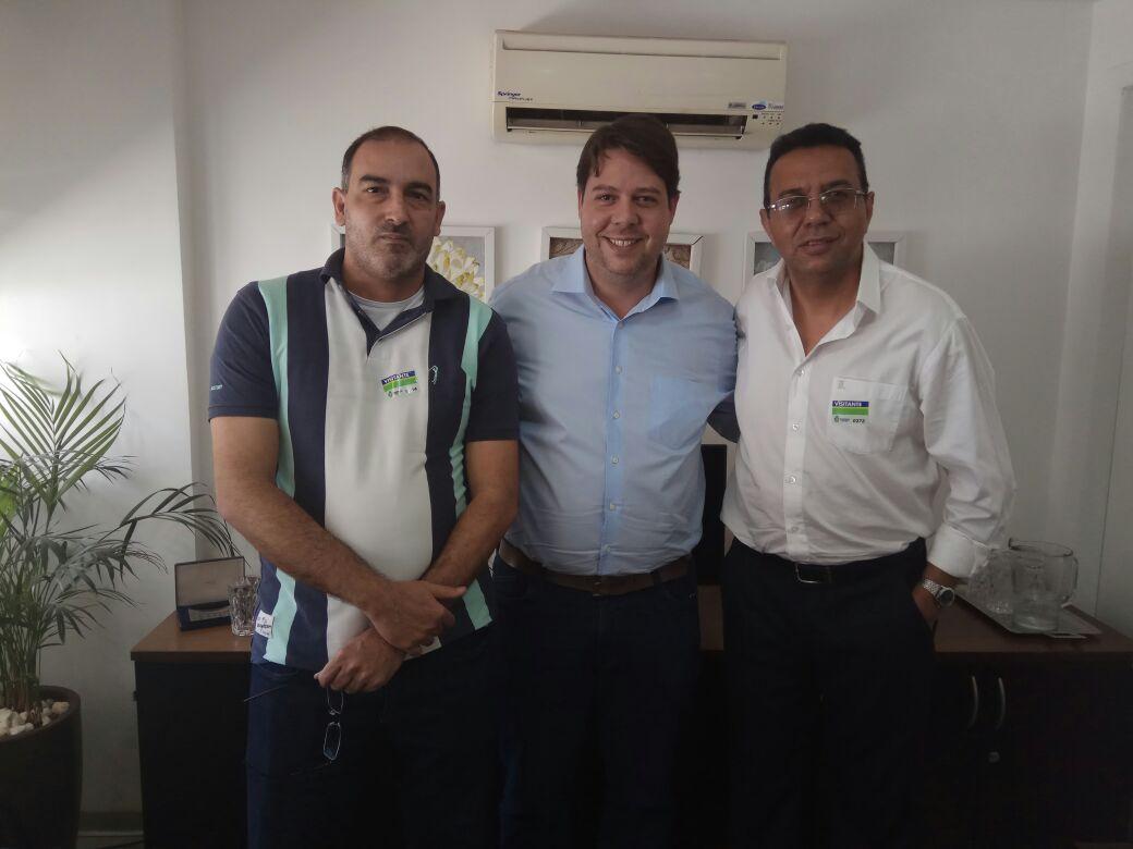 Fabrício Duarte, Karlos Cabral e Luzo Gonçalves