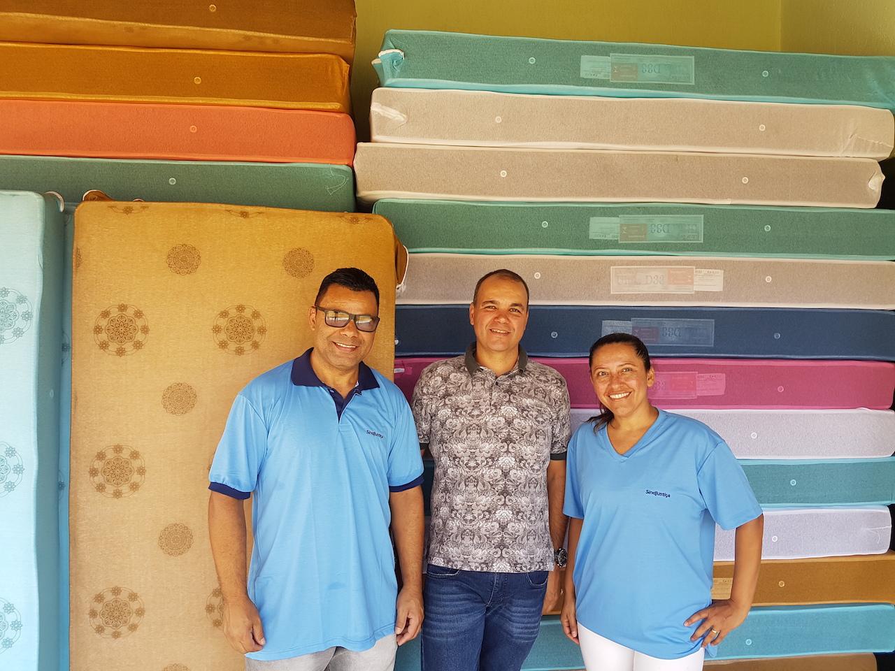 Vice-presidente Kerner Gondim acompanhou a instalação do novo mobiliário